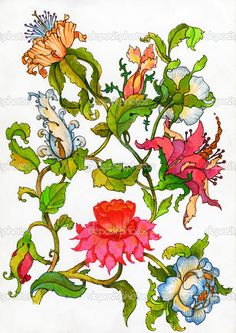 depositphotos_4237005-Fantasy-flowers.jpg (725×1023)