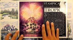 Stampscapes 101: Video 134.  Early Store Display scenes.