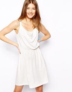 Mela London Black lace trim maxi dress Dame kjole Mode