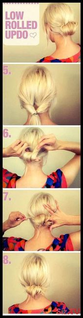 Hairstyles Updo Easy Casual Up Dos 25 Ideas Frisuren Hochsteckfrisur Easy Casual Up Dos 25 Ideas - # Work Hairstyles, Quick Hairstyles, Wedding Hairstyles, Waitress Hairstyles, Casual Hairstyles, Up Dos For Medium Hair, Medium Hair Styles, Short Hair Styles, Braid Styles