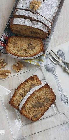 Cake de miel y nueces. Receta
