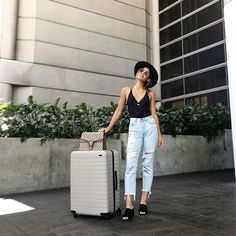 """adoir: """"premxa: """"phearl: """" IG: littleblackboots """" p r e m x a """" - A. Travel Style, Fall Outfits, Travel Outfits, White Jeans, Mom Jeans, Beautiful Pictures, Girl Fashion, Normcore, Chic"""