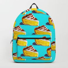Design your everyday with backpacks you'll love to bring to school or the office, featuring trending patterns from independent artists worldwide. Lemon Meringue Pie, Backpacks, Unique, Bags, Shopping, Design, Handbags, Backpack