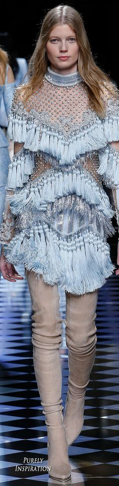 Balmain FW2016 Women's Fashion RTW | Purely Inspiration