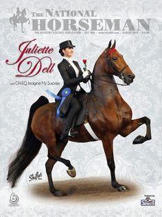 Juliette Dell and CH-EQ Imagine My Surprise...American Saddlebred