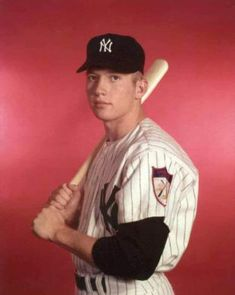 b30f7c9e7bb 6-Mickey Mantle in 1951..   · New York Yankees ...