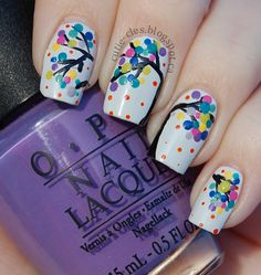 Cutie-cles: Paintings Nail Art Series - A Time for Celebration