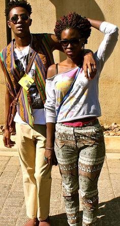 African fashion. Ghana meets Tanzania. #AfricanStylin