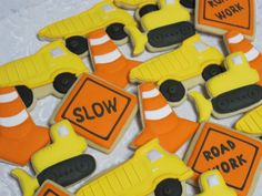 construction cookies - Google Search
