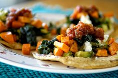 Kickass Supercharged Tacos (with kale and sweet potato) #recipe #vegetarian #healthy