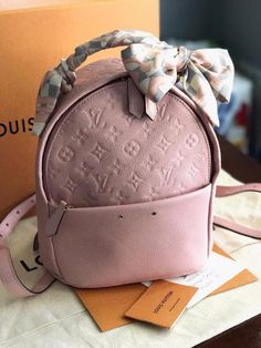 Louis Vuitton Backpack with a bandeau! Owner: Christian Cabello (group member) #Louisvuittonhandbags