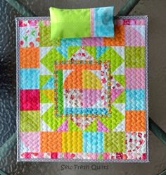 Sew Fresh Quilts: Pillow Case Tutorial with French Seams