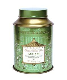 쇼핑몰 > Trend > Fortnum & Mason Tea: Classic World Tea