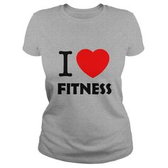 Fitness and love Funny Tee Shirts