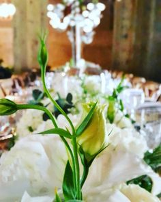 Flower arrangements for Wedding Reception at The Venue Fontana #tabledecor #flowerarrangements...
