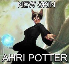 You're a wizard Ahri!
