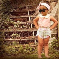 cute kids clothes | Cute Vintage-Inspired Kids' Clothes Collection By Lacey Lane ...  This is so cute