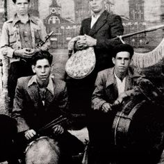 Os Tampudos de Esteiro (1940). Eduardo Brea (requinto), Peregrino Brea (gaita de…