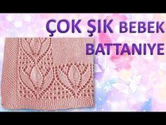 Beautiful pattern for a shawl Lace Knitting, Baby Knitting Patterns, Knitting Stitches, Stitch Patterns, Crochet Designs, Knitting Designs, Crochet Video, Knitting Videos, Felt Art