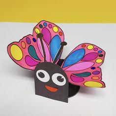 Cardboard Tube Butterfly