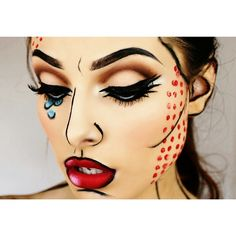 #ShareIG Another look at my pop art makeup