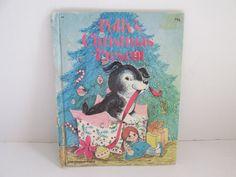 Pollys Christmas Present Childrens Books Puppy by ReVintageLannie
