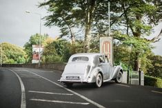 Wedding car arriving at The Red Door Country House, Fahan, Co. Photo by Donal Doherty Photography. Civil Wedding, Wedding Car, Donegal, Wedding Receptions, Doors, Weddings, Country, Red, Photography
