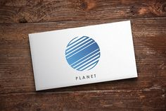 Planet Logo by Michael Rayback on @Graphicsauthor