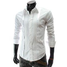 Slim fit Long Sleeve Dress Shirt