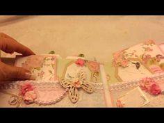 ▶ Magnola Tilda Shabby Chic Mini Album - YouTube