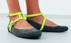 Strappy Ballet Flats  Womens Shoes  Any Colors  Any by SHUNAMI, $60.00