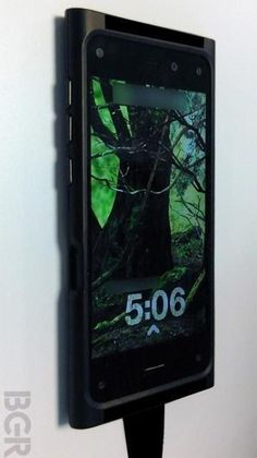 An alleged photo of the 3D Amazon smartphone, obtained by BGR.com.