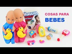 Recopilación 5 Manualidades para bebes de Barbie [pañales, bañera, cuna, silla, coche] - YouTube