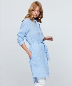 Lucy linen tunic 349.00 NOK, Tunikaer - Gina Tricot