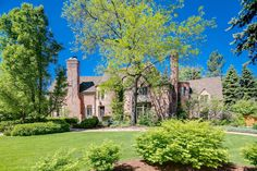 A beautiful Tudor located on a half acre lot in Country Club Historic! 401 Race Street, Denver CO - Contact Trish Bragg or Maggie Armstrong for details.