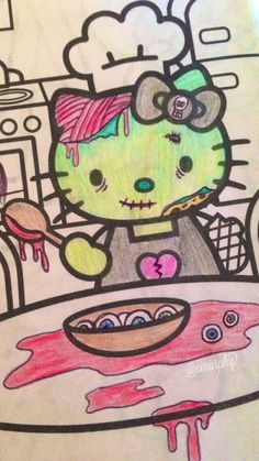 I get bored and transform coloring books! ✿