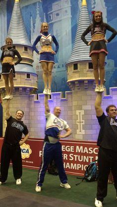CSU partner stunt couples 2012