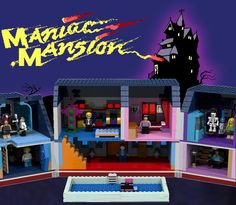 LEGO Ideas - Maniac Mansion - The Edison Mansion