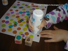 Dot Marker Counting - what a cool activity