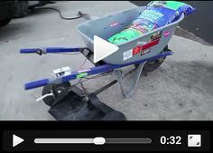 Electric Wheelbarrow.  You have to see this!