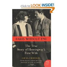 i'm fascinated with hadley and ernest hemingway's story - there was so much love between the two of them, more than i think they could handle.