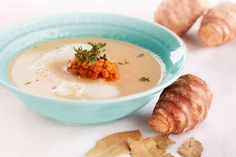 Topinambur-Suppe mit Thymian | LaVita Blog – Fit fürs Leben