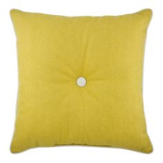 Buy Harrison Filled Cushion Mustard | Cushions | The Range