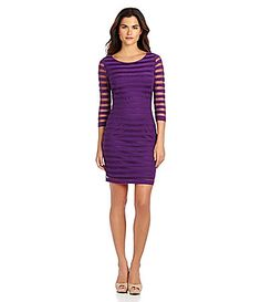 Gianni Bini Fan Fav Barkley MeshStripe Dress #Dillards