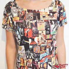 Camiseta Rock Bands - CherryGumStore