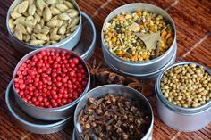 Cardamom, Piper roz, Curry Madras, Cuisoare, Coriandru, Anason stelat www.chefa.ro Curry, Beans, Vegetables, Food, Curries, Vegetable Recipes, Eten, Veggie Food, Prayers