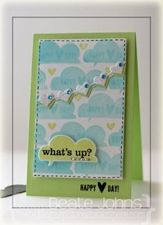 fresh & fun.  cute card!