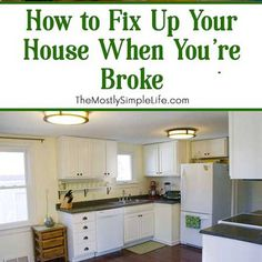 The #1 Way To NOT Stress About Money. Remodeling IdeasCheap RenovationsMobile  Home ...