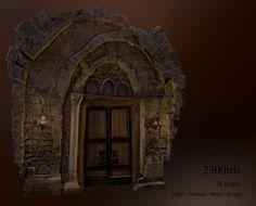 ArtStation - The Dungeon Door, Marc Obiols