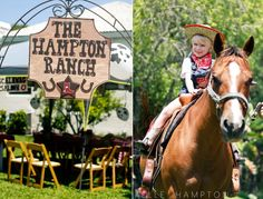 wild west birthday party. my kid will have this birthday party!